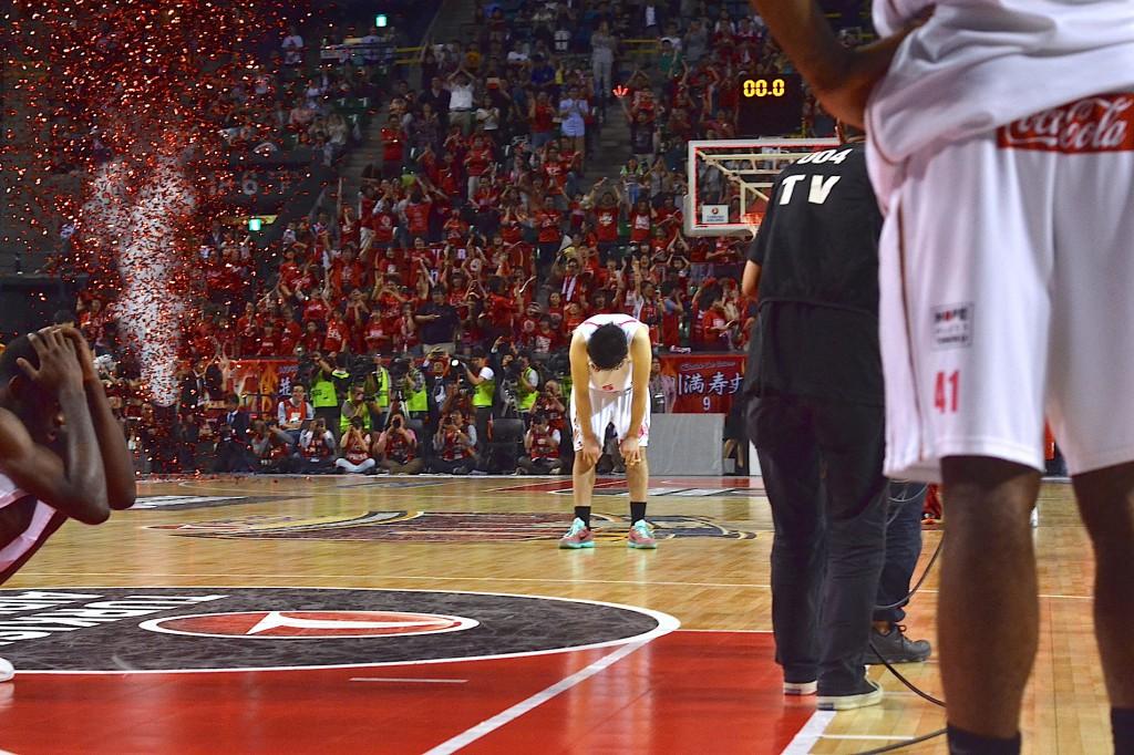 誰よりもチャンピオンシップへの想いを語り、実現させようとしていた田口。バスケの神様は、無情にも彼に微笑まなかったのであった。